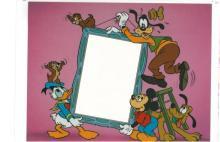 Disney Sericels - Goofy- Add you own 4x6 photo
