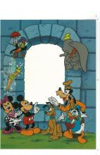 Disney Sericel - Multi Character - Add your own 4x6 photo