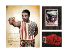 Aaron Pryor 3 Opening Framed