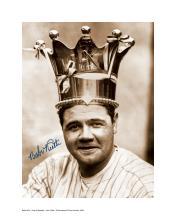 Babe Ruth King of Baseball Facsimile Signature