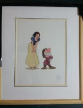 Animation art - Disney's Snow White and the Seven Dwarfs sericel