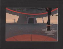 SAMURAI JACK original hand-painted production background from