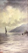 THOMAS REGINALD ATTWOOD - Coastal Scene