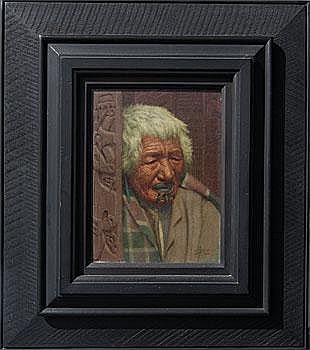 Art Work by: Charles Frederick Goldie . Kapi Kapi.