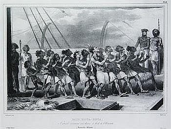 Art Work by: Louis Auguste De Sainson . Danse des