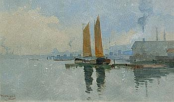Freemans Bay, Auckland, c. 1900 Walter Wright