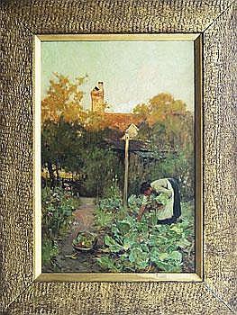 The Cottage Gardener Adam Edwin Proctor