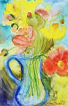 Jane Evans Artwork for Sale at Online Auction | Jane Evans