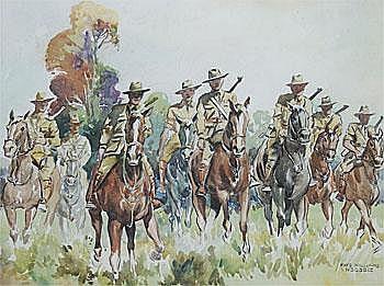 Anzac Cavalry Rhys Williams