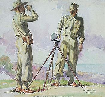 8 Bn V.D.C. Sig's Operating Heliograph Terry