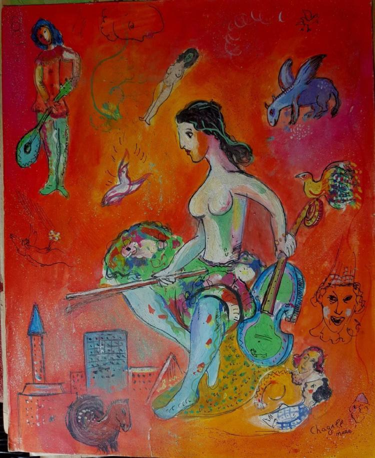Chagall nude Nude Photos 15
