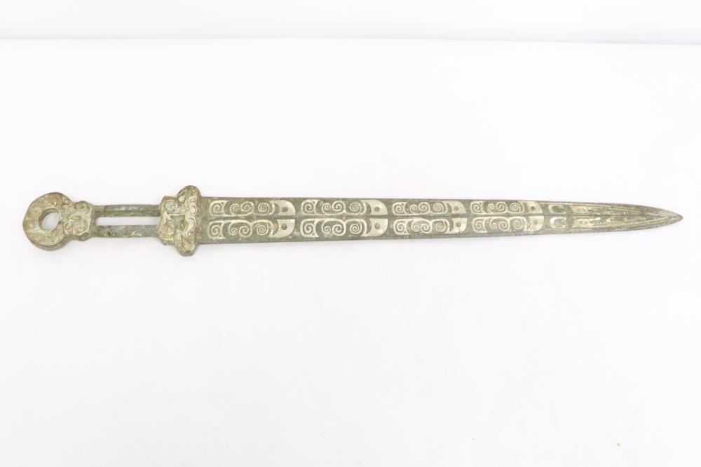 Chinese bronze sword