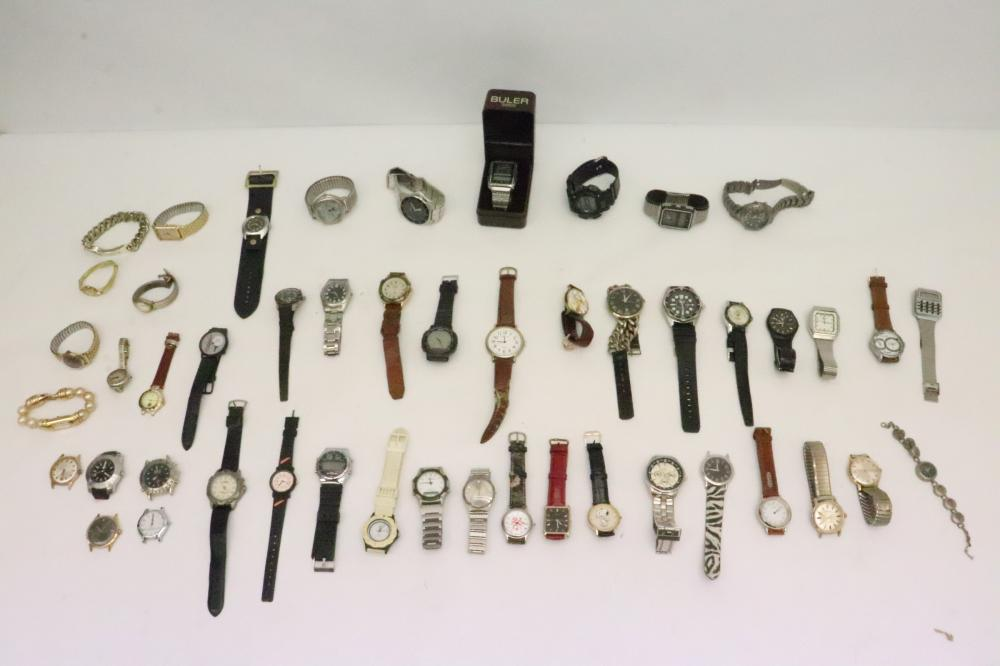 Lot of watches; most just for parts