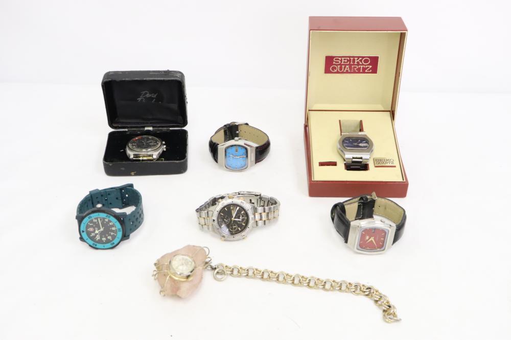 7 wrist watches