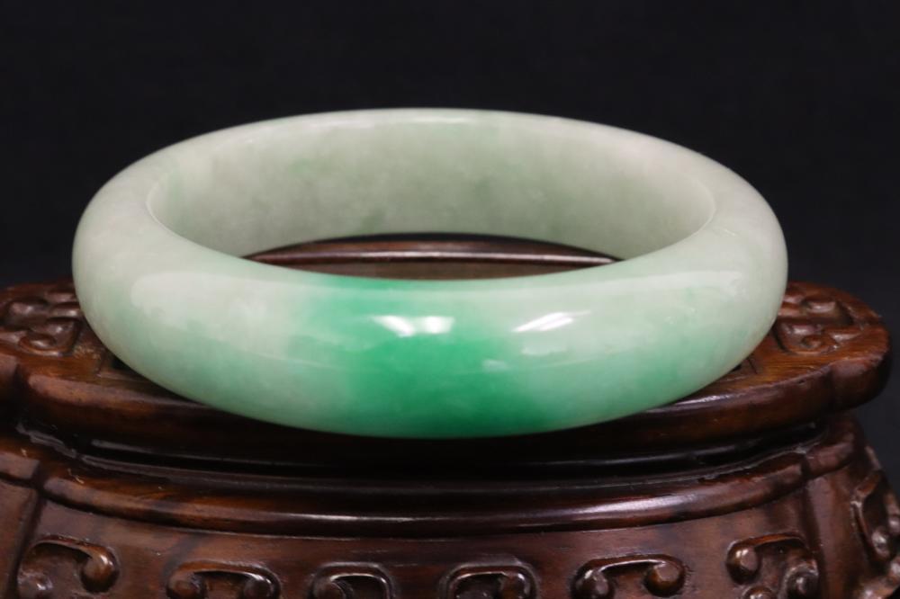 A jadeite like bangle