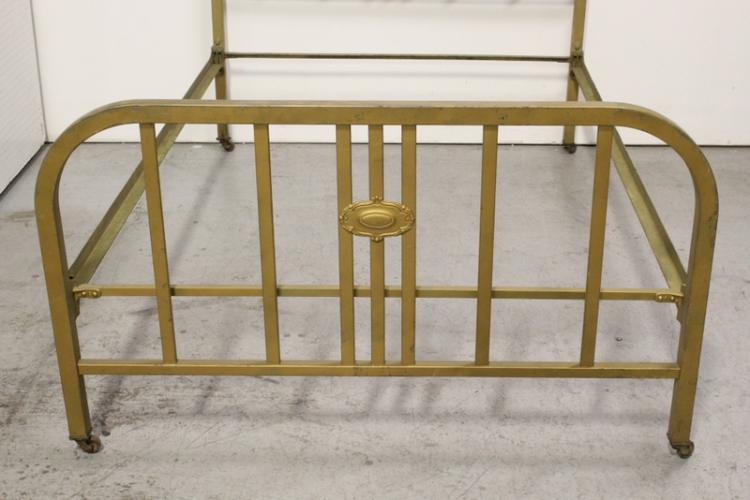 Victorian Cast Iron Beds : Set of victorian cast iron bed frames