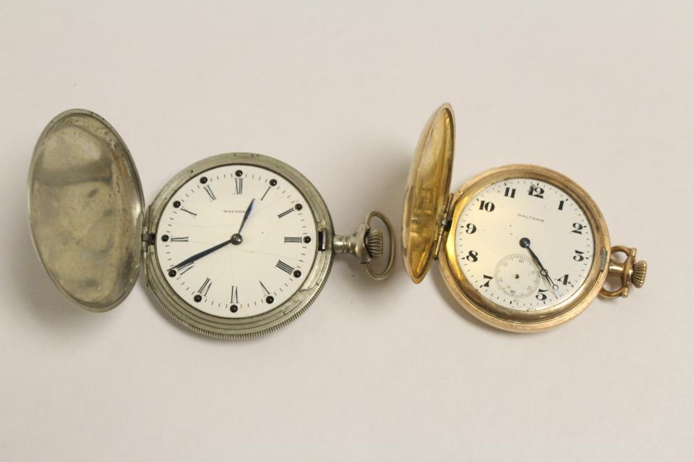 2 Waltham pocket watches