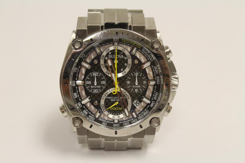 Bulova precisionist 300 meter diver chronometer