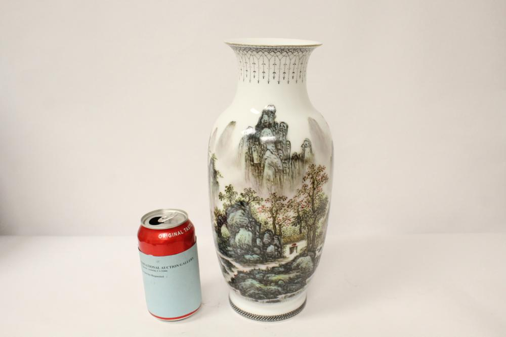 Chinese Porcelain Vases For Sale At Online Auction Modern