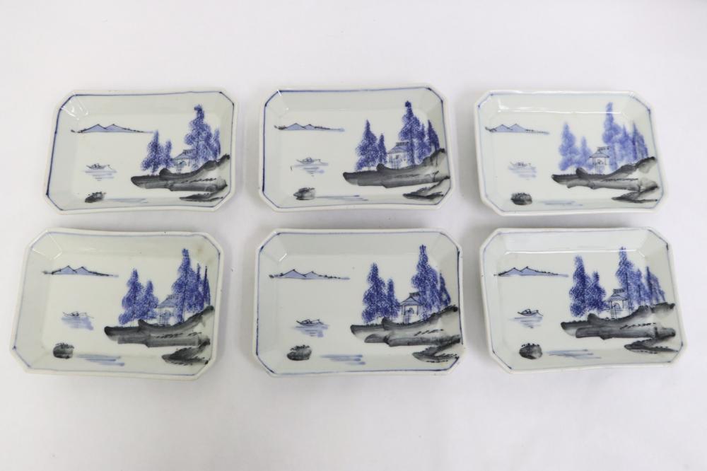 10 antique Chinese/ Japanese porcelain plates
