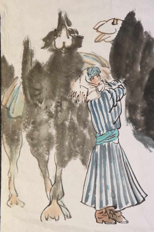 2 watercolor panels