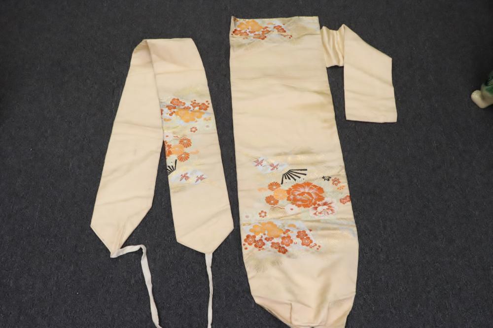 3 Japanese obi