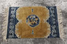 Chinese silk Peking rug