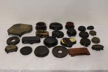 Lot of misc. Chinese wood stands