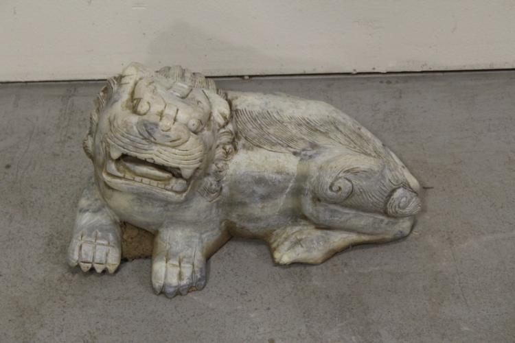 Chinese stone carved garden ornament