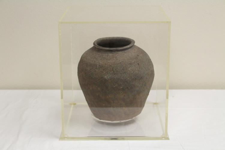 A Chinese Neolithic pottery bowl
