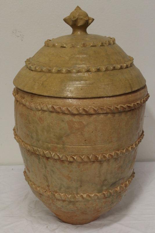 Large Chinese storage pottery jar