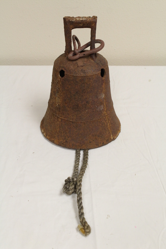 A cast iron bell, Daoguang mark