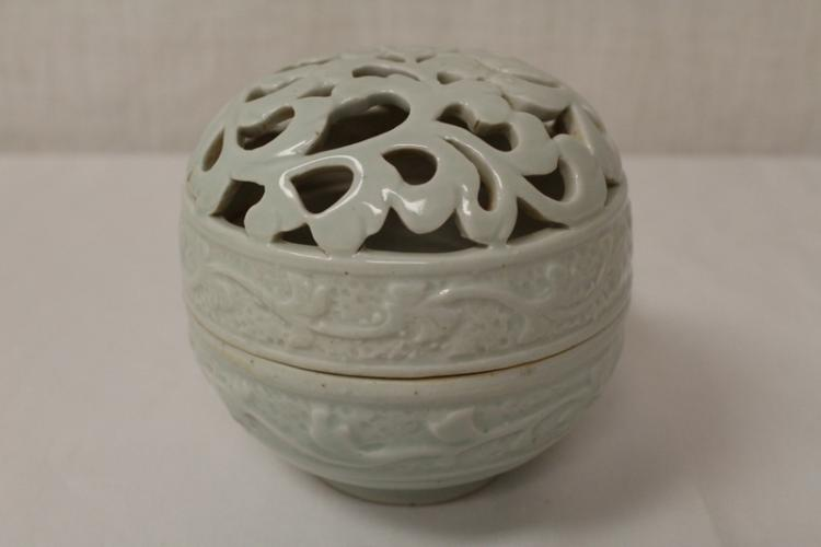 Chinese Song yingqing style porcelain censer