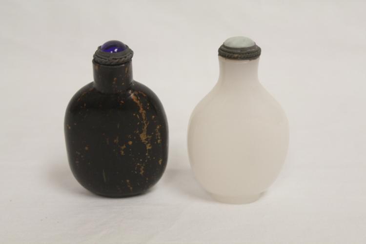 2 Peking glass snuff bottles