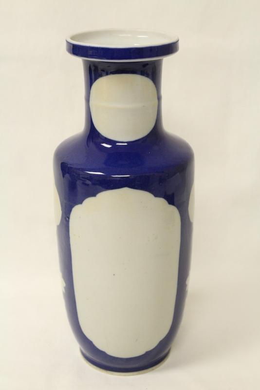 Chinese vintage porcelain vase, Kangxi mark