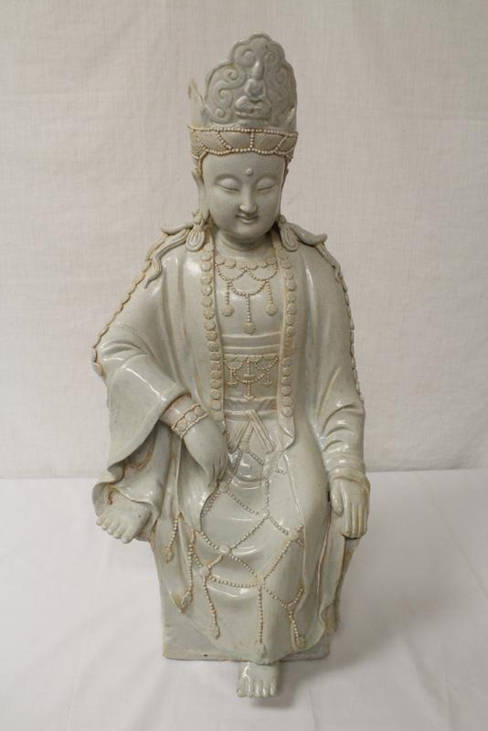 Chinese Song yingqing style porcelain Buddha