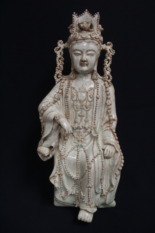 Chinese Song yingqing style porcelain Guanyin