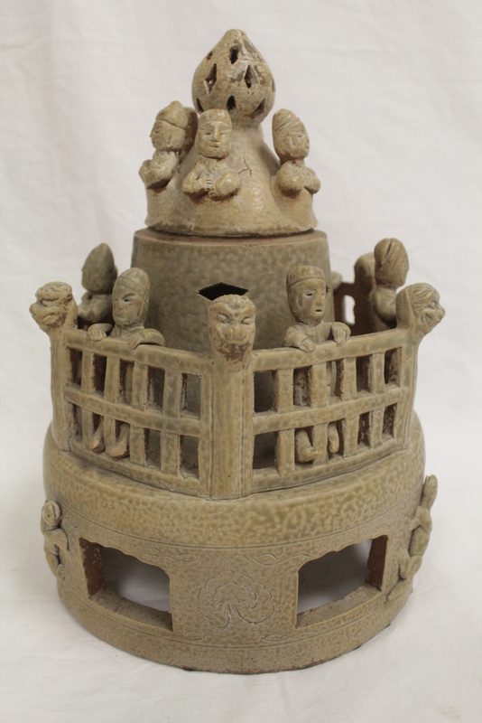 Chinese Song style porcelain burial ornament