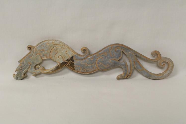 Chinese jade carved qilin