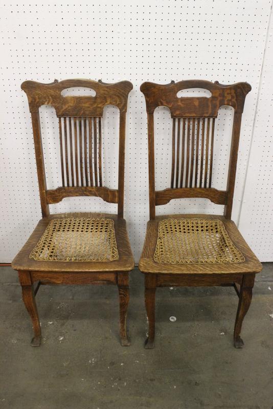 Excellent 19Th Century 6 Pieces Tiger Oak Dining Room Set Short Links Chair Design For Home Short Linksinfo