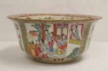 Chinese 19th/20th c. famille rose planter