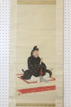 Japanese 19th century watercolor, signed