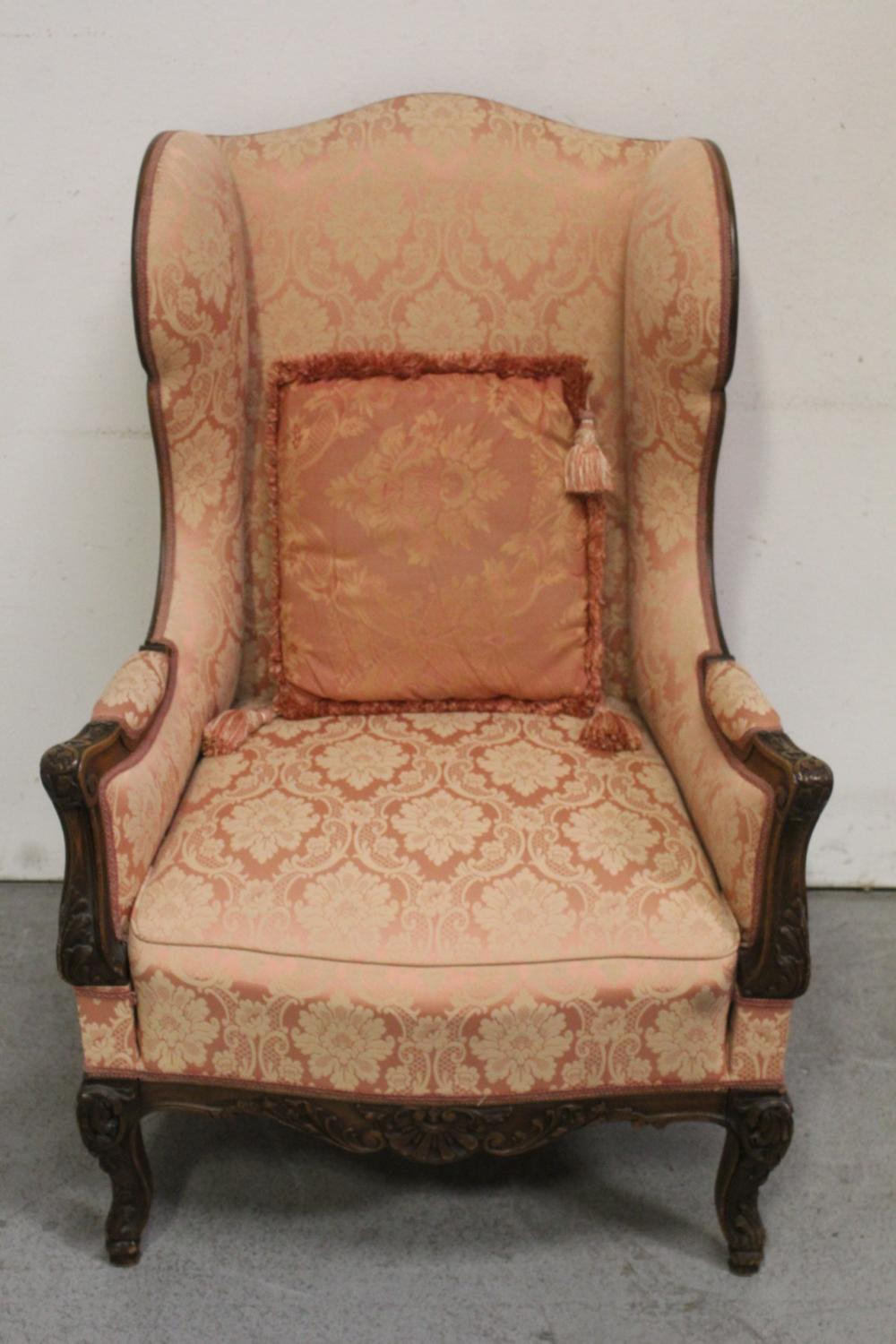 Beautiful 19th century French walnut armchair