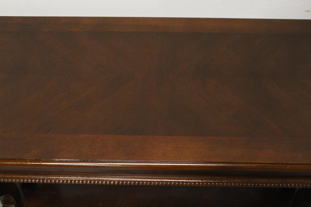 Lot 72: Fine mahogany console table
