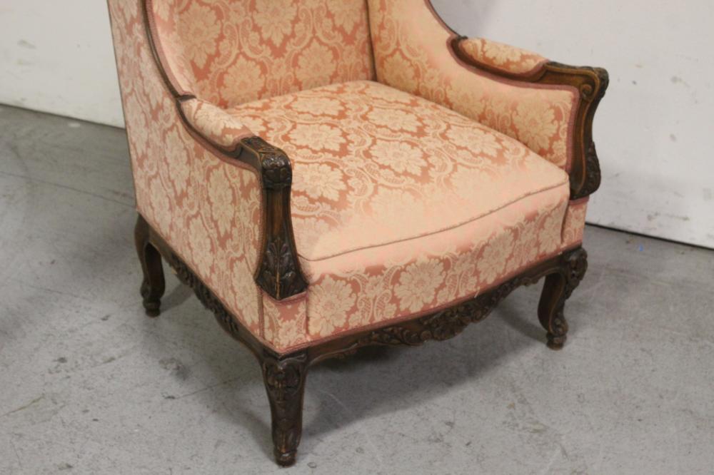 Lot 71: Beautiful 19th century French walnut armchair