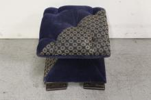Lot 80: Victorian needle point stool & a 2-tier stool/chair