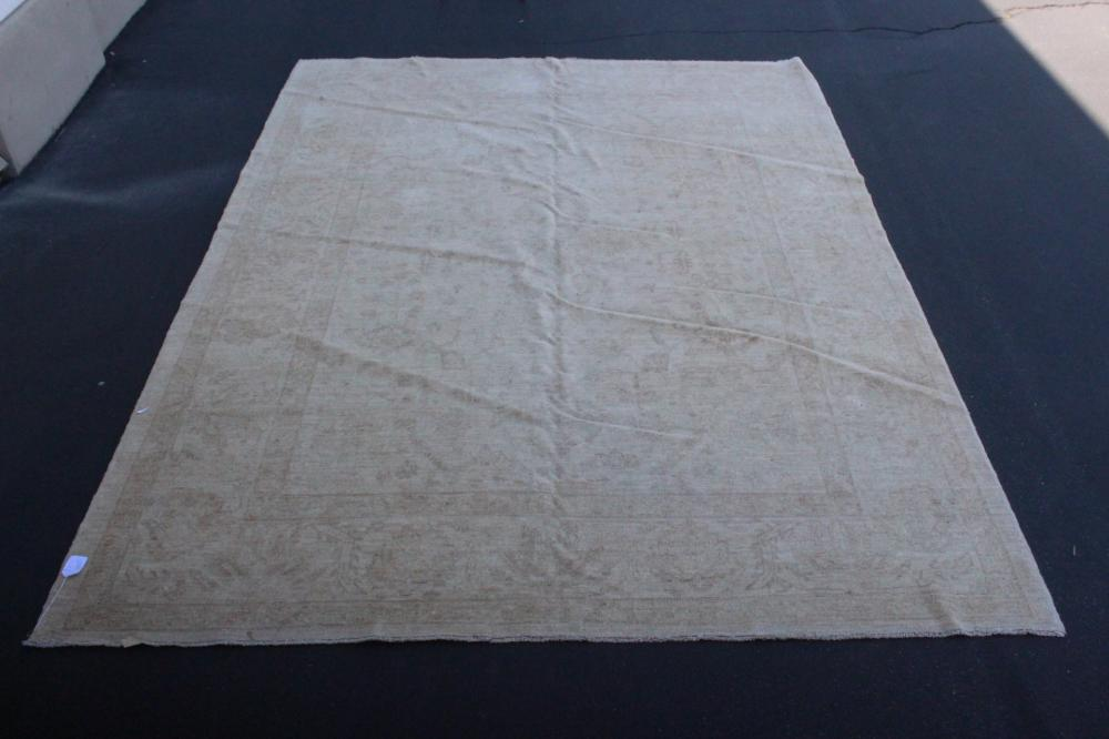 vintage room size handmade Persian rug