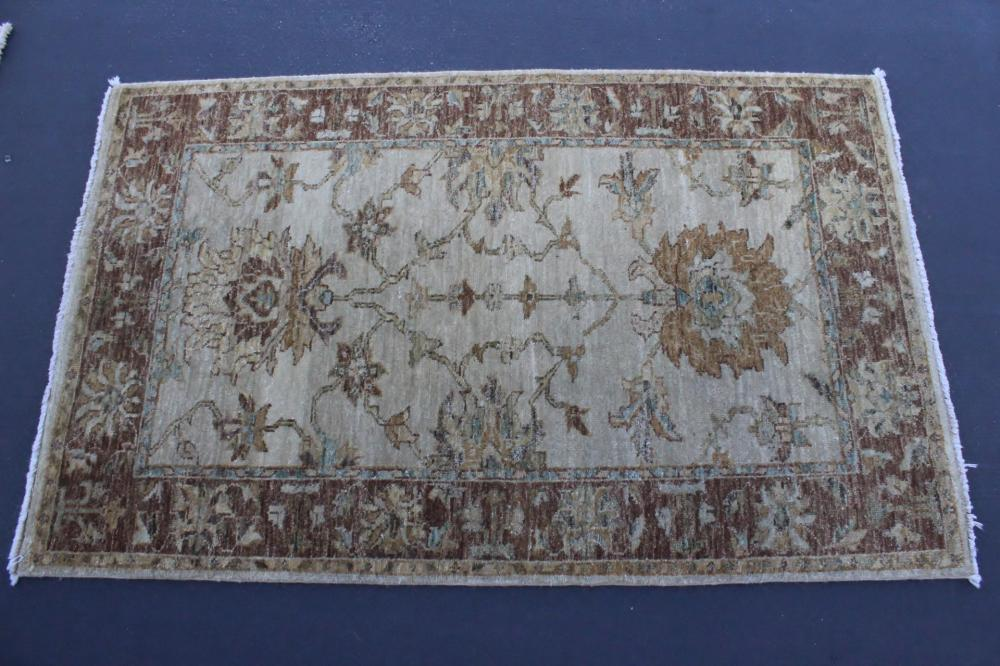 A beautiful hand made area rug