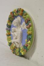 Lot 125: Italian porcelain wall panel