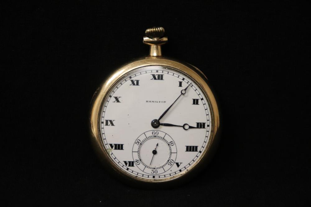 Hamilton 17-jewel pocket watch